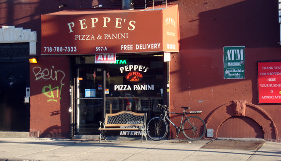 Pepe's Pizza 597 4th Ave. Brooklyn, NY