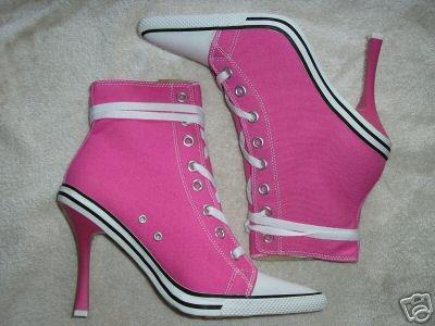 Converse high heels? YES!